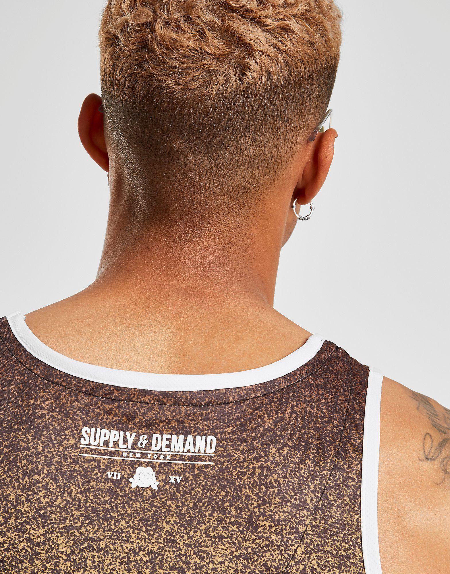 Supply & Demand Despeckled Vest