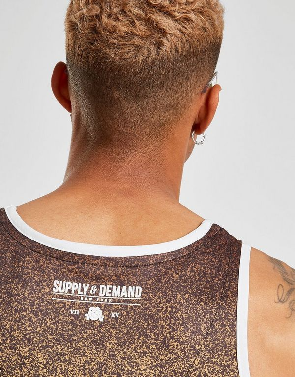 Supply & Demand Despeckled Vest
