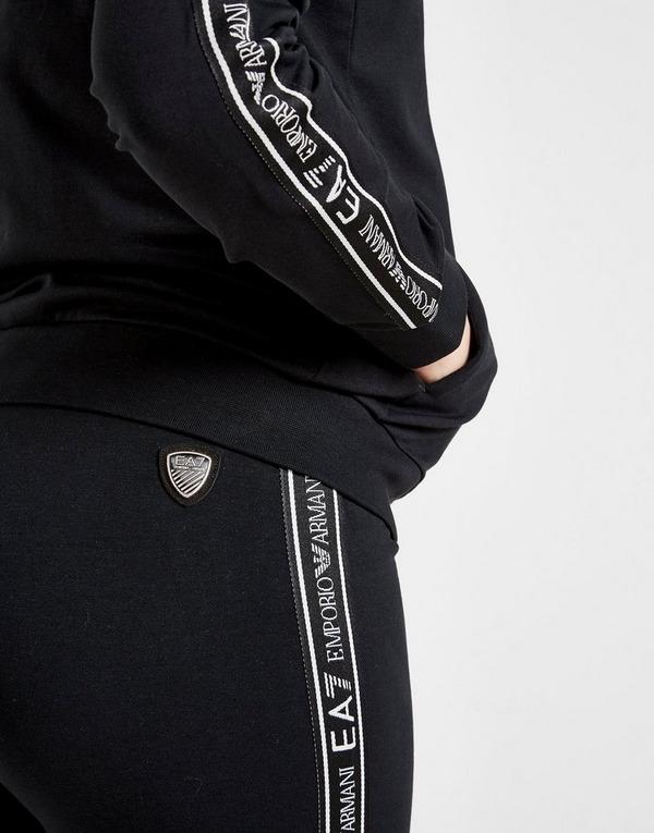 Emporio Armani EA7 Girls' Train Logo Tape Suit Junior