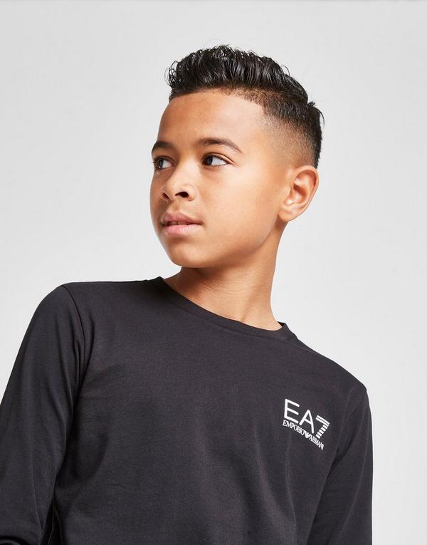 Emporio Armani EA7 Core Long Sleeve Logo T-Shirt Junior