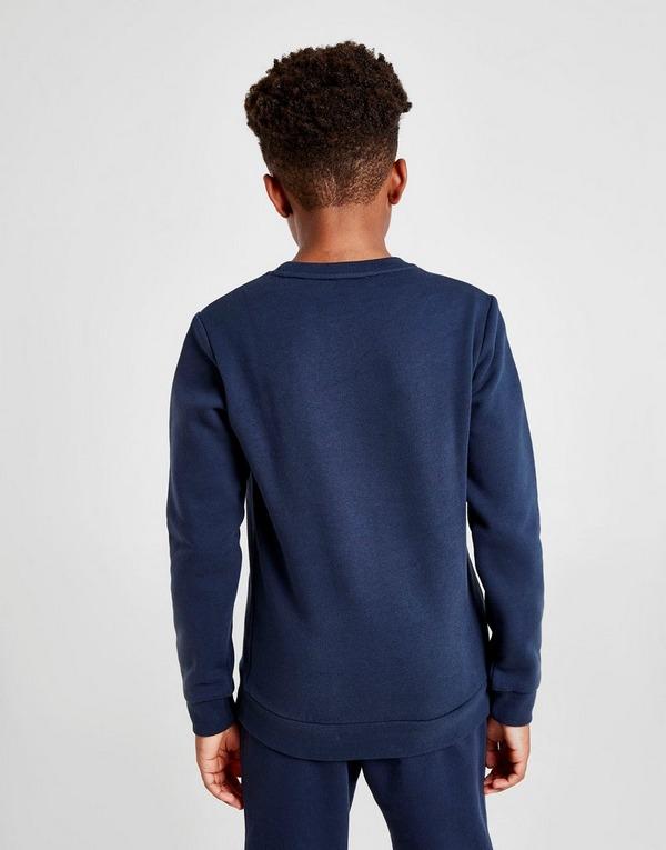 Emporio Armani EA7 Oversize Logo Crew Sweatshirt Junior
