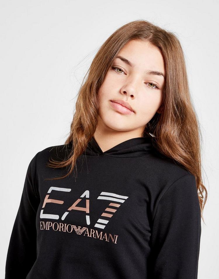 Emporio Armani EA7 Girls' Train Shiny Tracksuit Junior