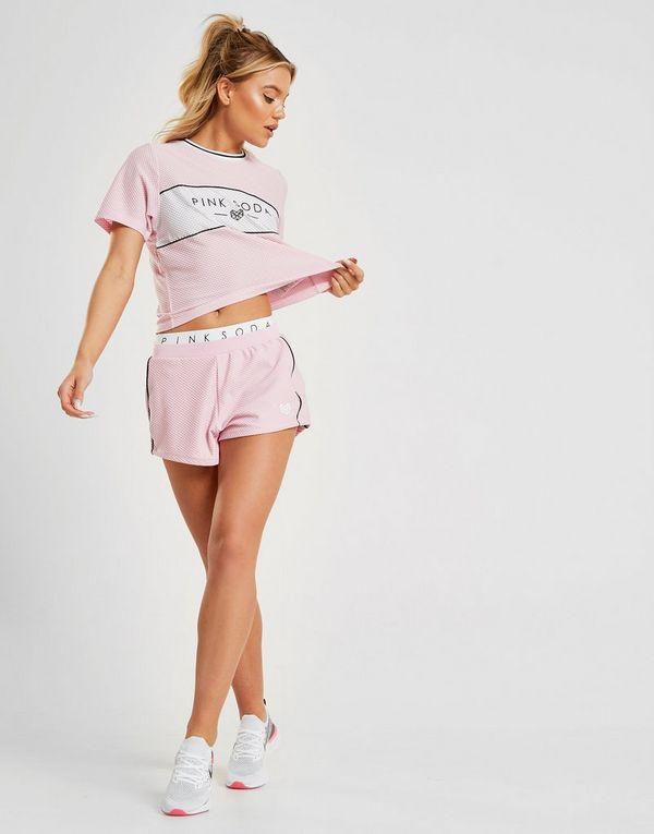 Pink Soda Sport camiseta Colour Block Mesh