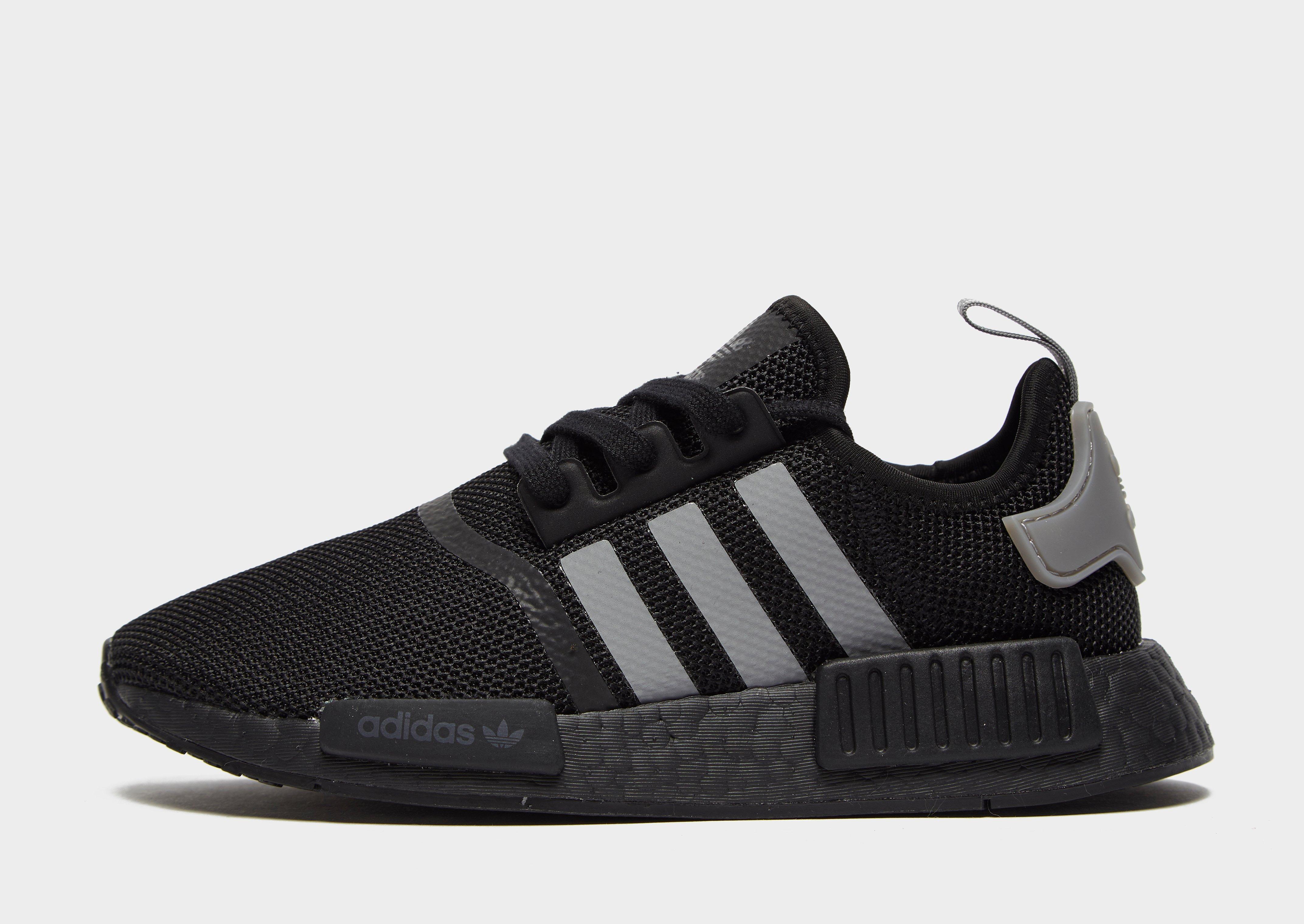 Sverige adidas nmd runner herr skor mörkgrå och svarta