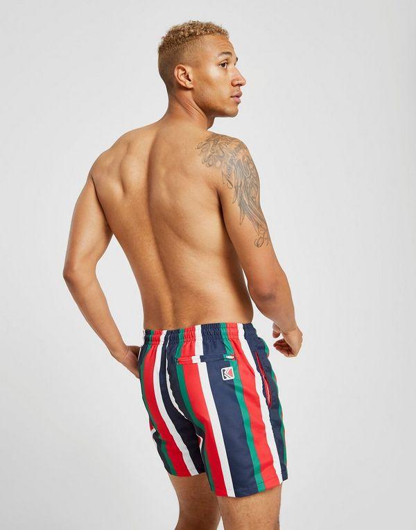 Karl Kani Vertical Stripe Swim Shorts
