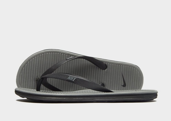 Køb Nike Solarsoft II Badesandaler Herre i Grå | JD Sports