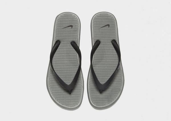 Shop den Nike Solarsoft II Flip Flops Herren in Black | JD