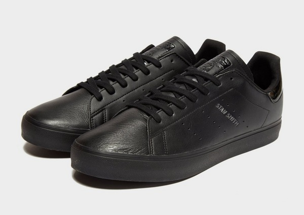 Koop Black adidas Originals Stan Smith Vulc Heren | JD Sports