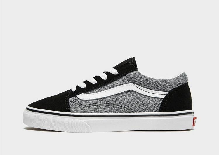vans old skool black and white junior