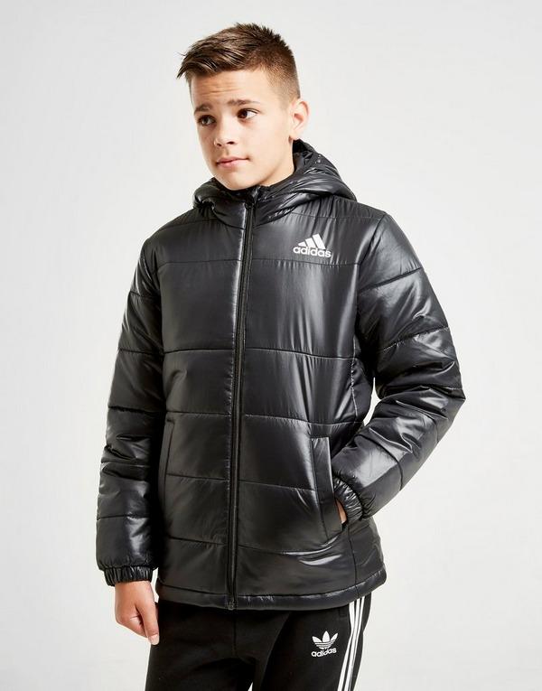 Shop den adidas Sport Padded Jacke Kinder in Schwarz