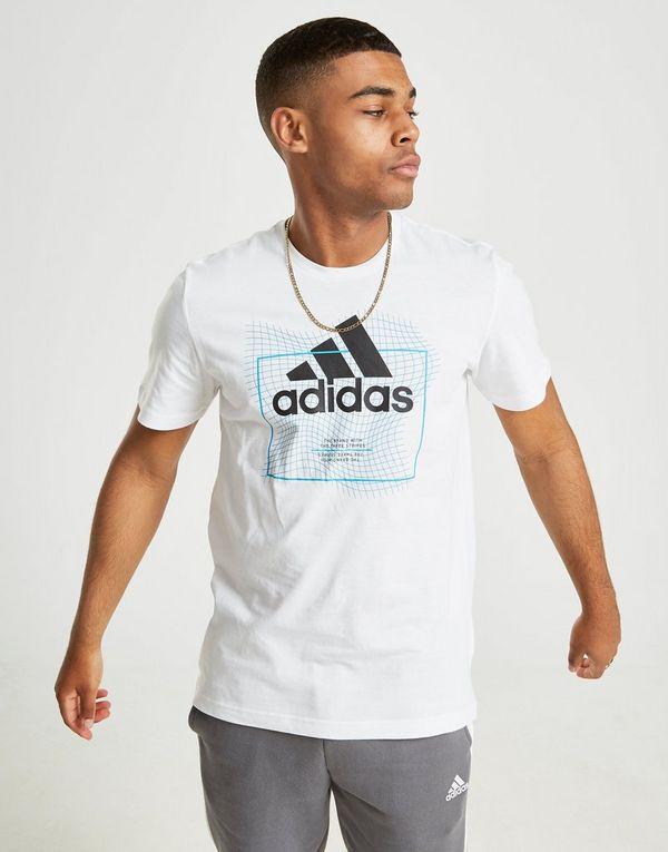 Adidas Grid ShirtJd Sport Sports Badge Of T WHEbD92IYe