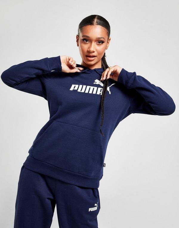 Koop Blue PUMA Core Overhead Hoodie Dames