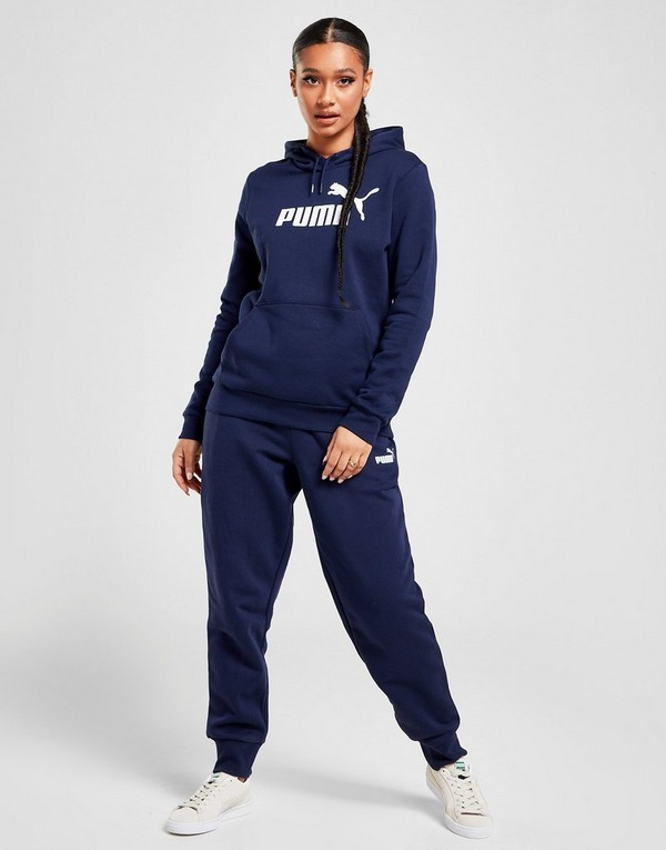Shop den PUMA Core Hoodie Damen in Blue | JD Sports