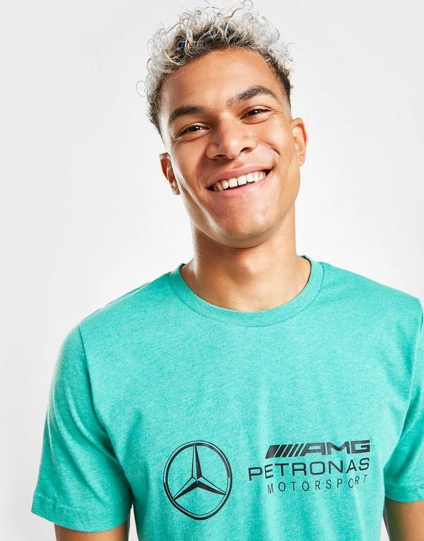 Compra PUMA camiseta Mercedes AMG en Verde   JD Sports
