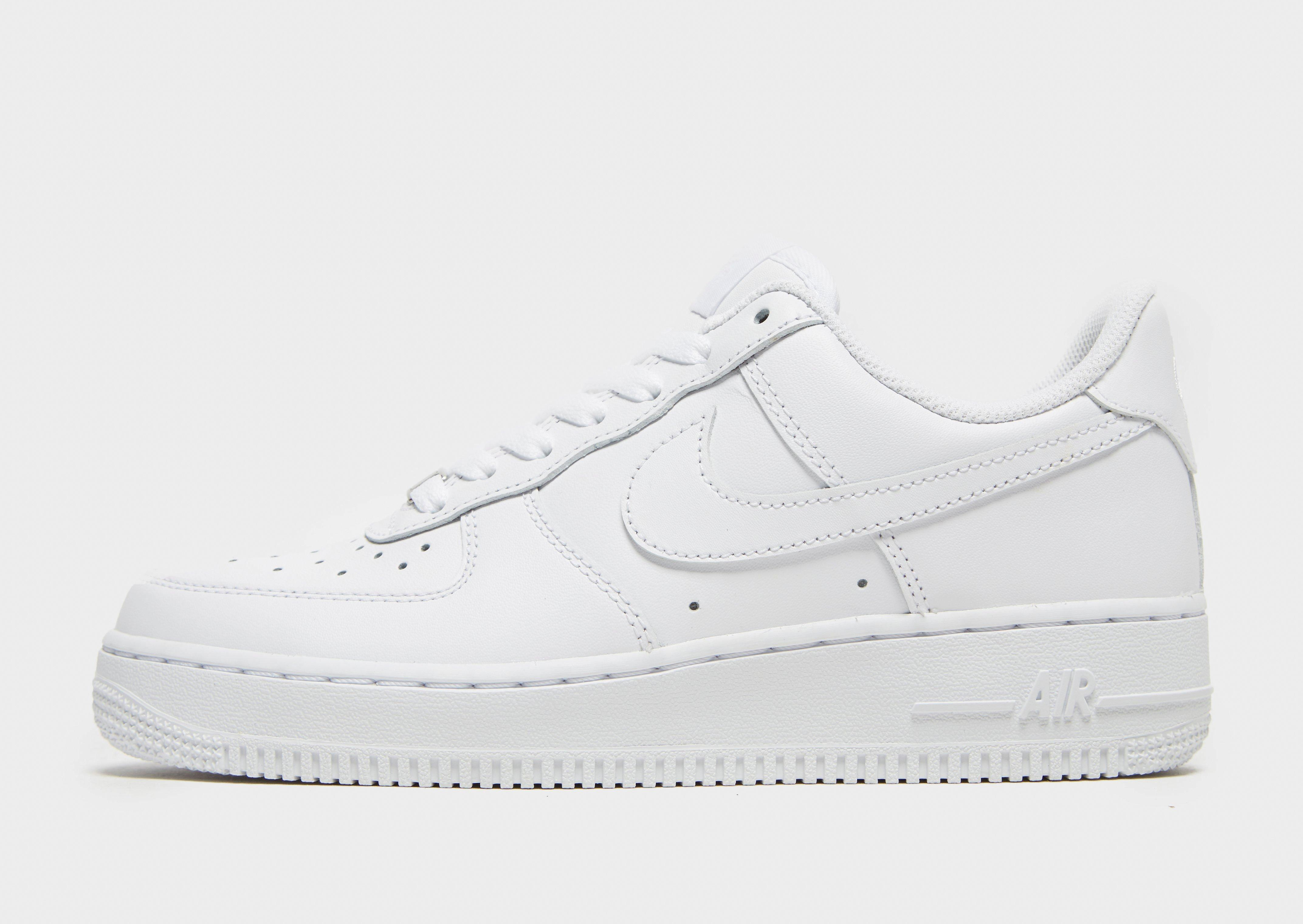 white air force 1 low tops