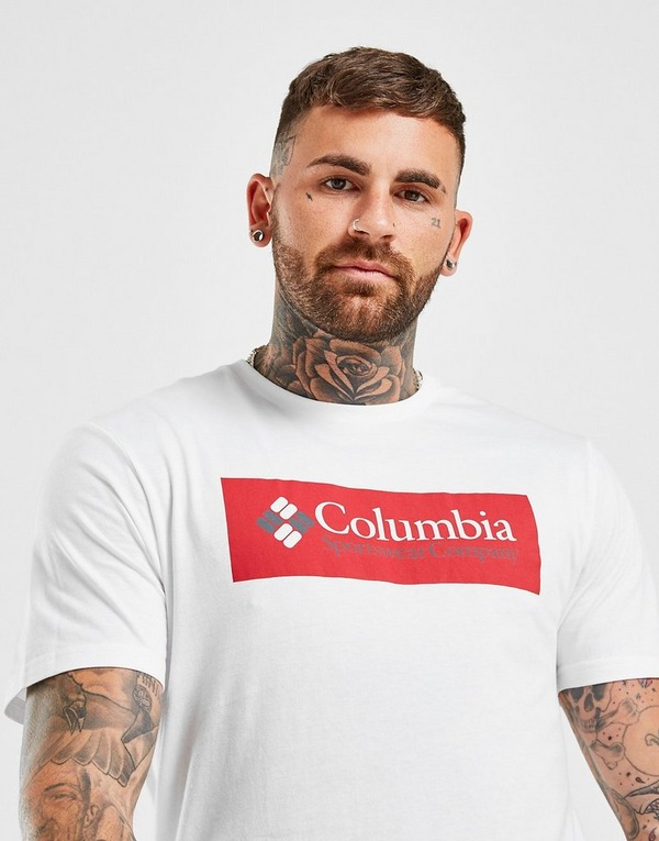 Columbia Large Front Box T-Shirt