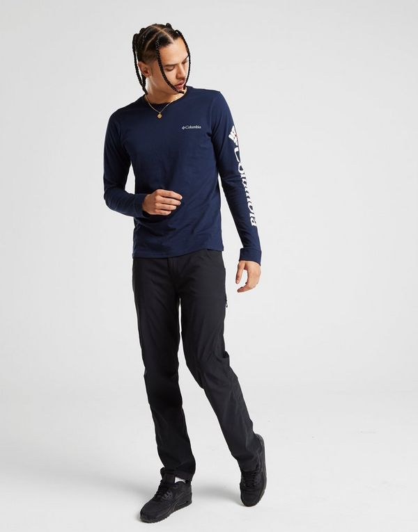 Columbia Long Sleeve Split Logo T-Shirt