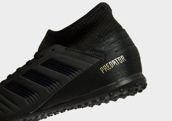 Buy Black adidas Dark Script Predator 19.3 TF Junior | JD ...