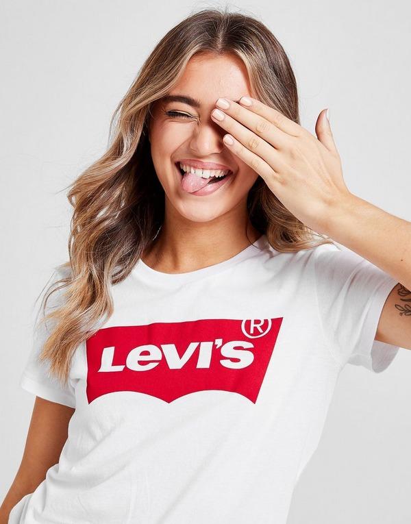 Levis Batwing T Shirt Damen   JD Sports