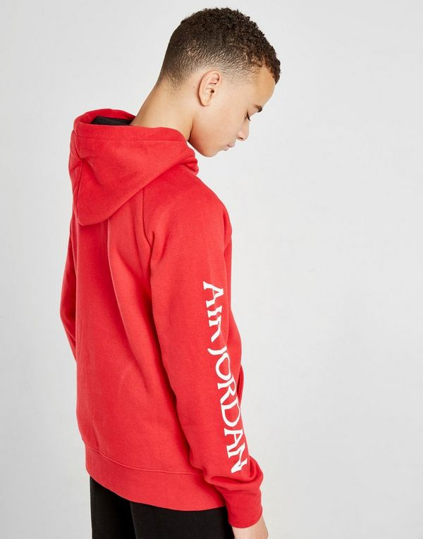 huge discount f48a4 3fcc8 Jordan Air Jumpman Overhead Hoodie Junior | JD Sports