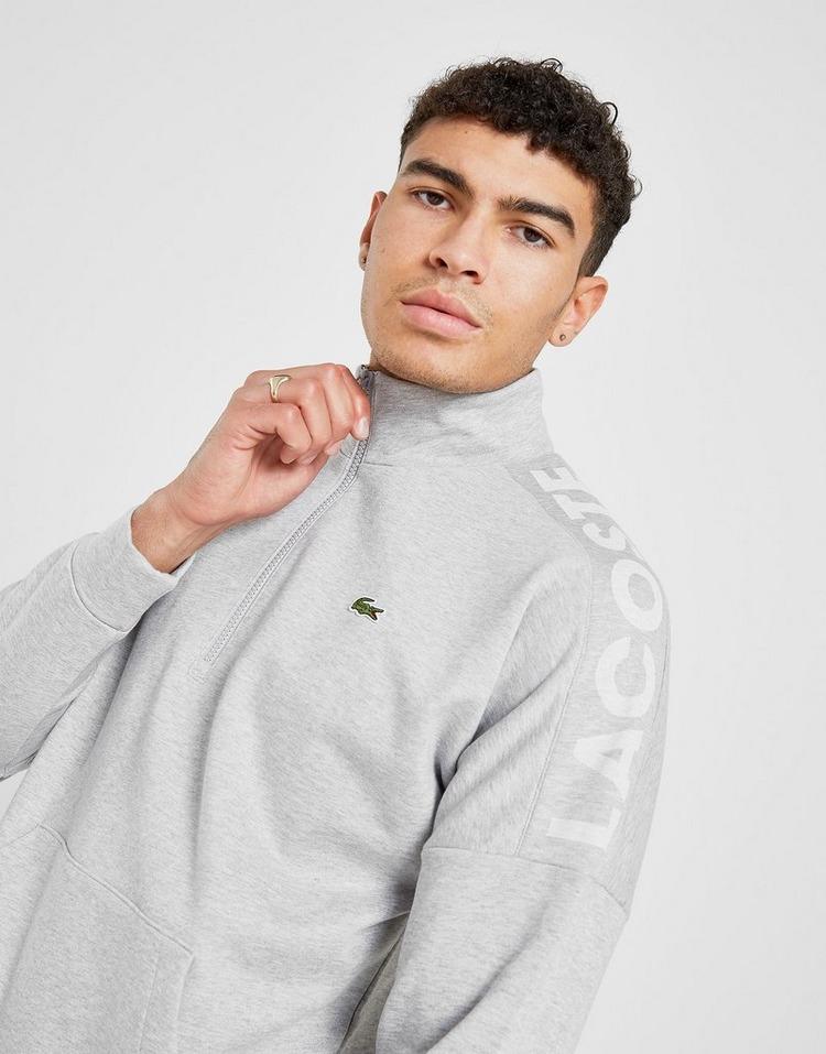 Lacoste Shoulder Logo 1/2 Zip Sweatshirt