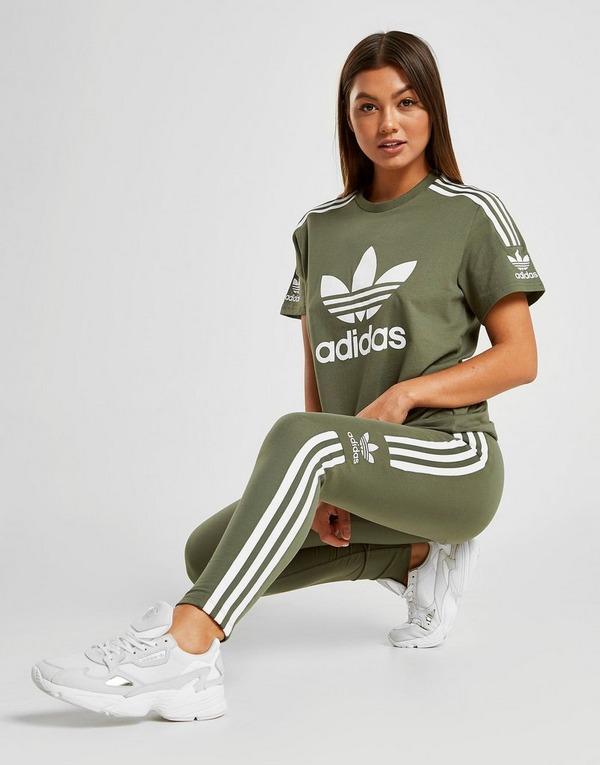 adidas legging legergroen