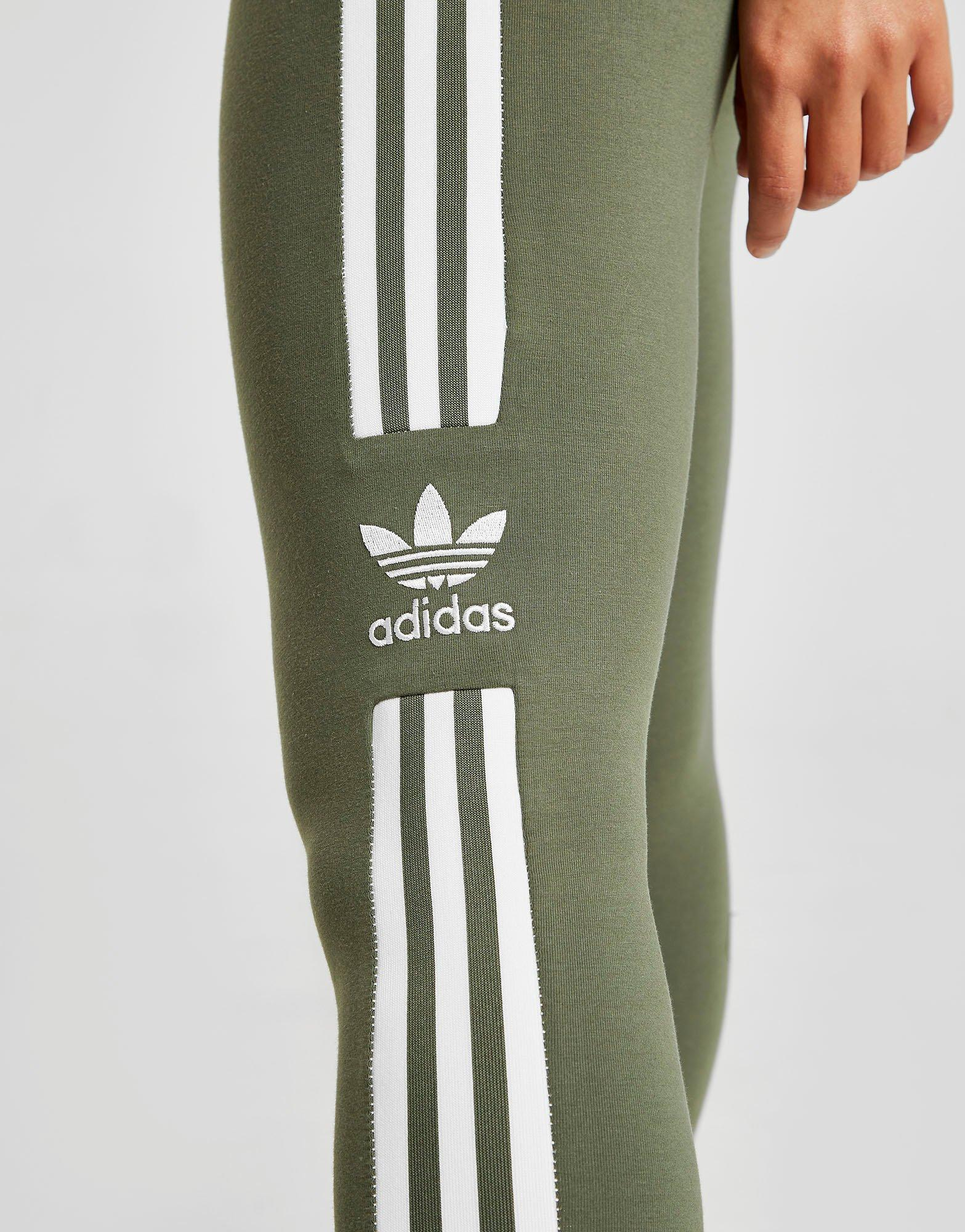 adidas originals 3-stripes trefoil leggings dames
