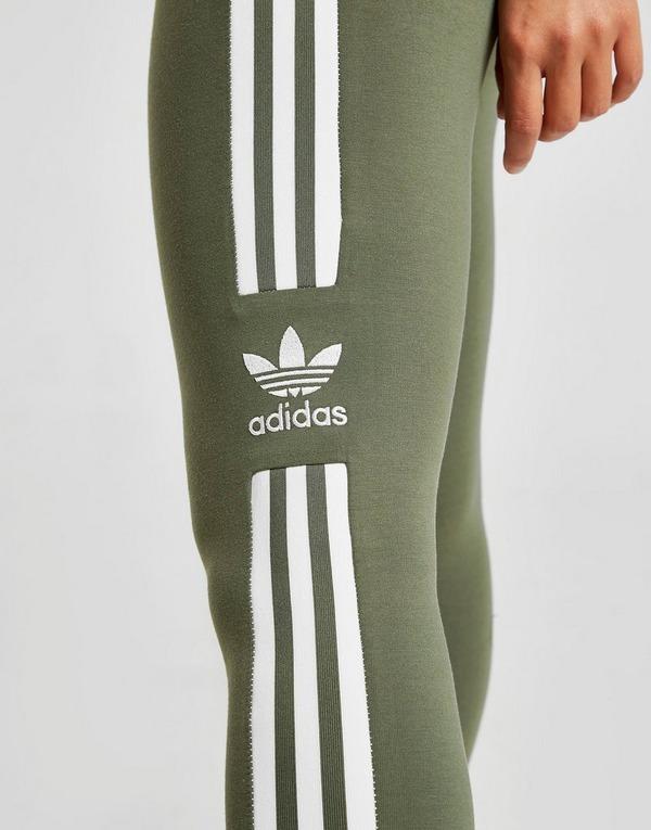 Koop Groen adidas Originals 3 Stripes Trefoil Leggings Dames