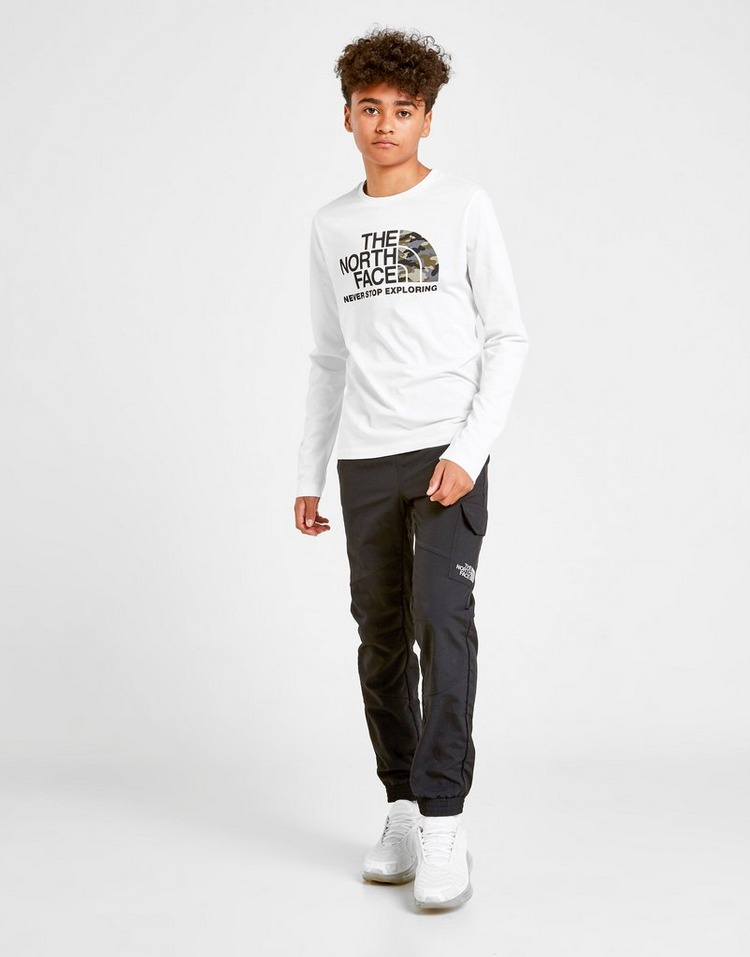 The North Face Easy Camo Long Sleeve T-Shirt Junior