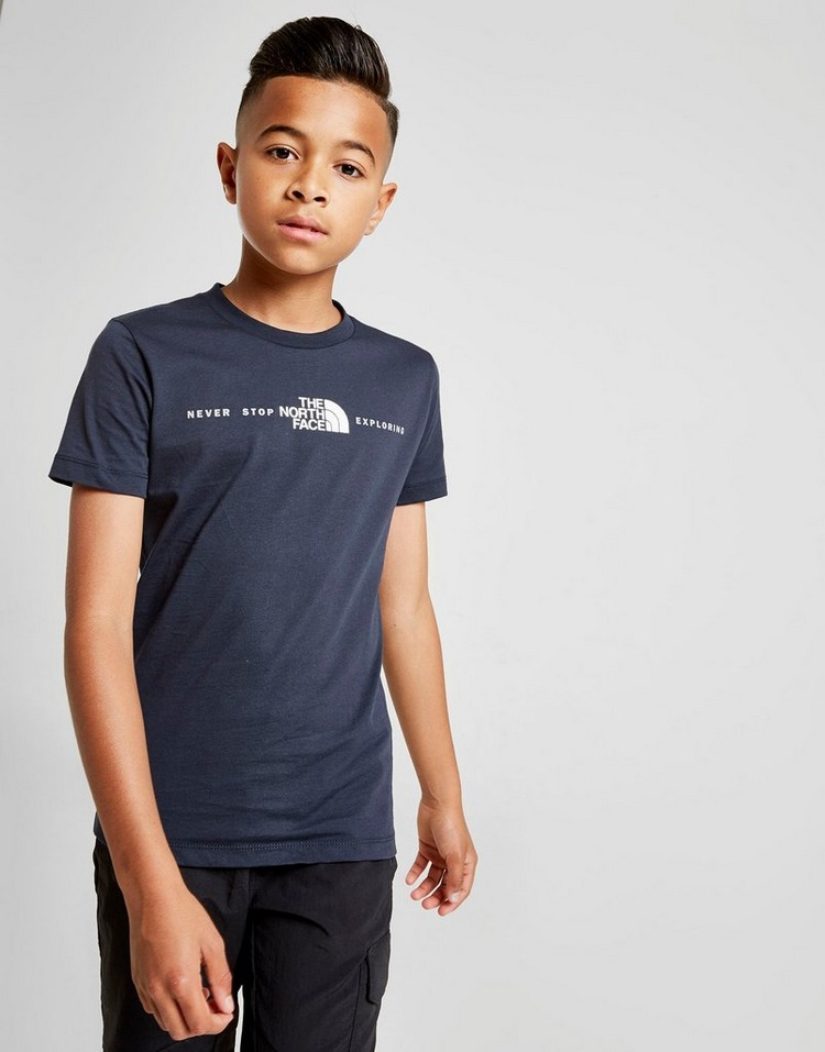 The North Face Central Logo T-Shirt Junior