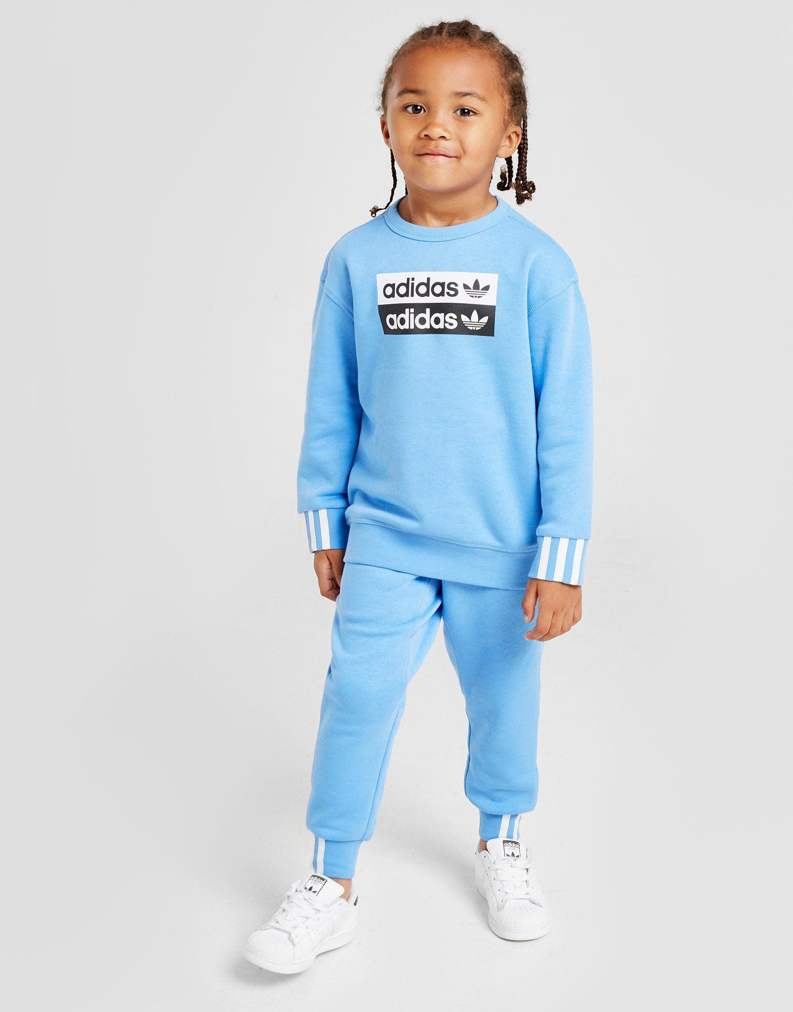 R Tracksuit y ChildrenJd vCrew Sports Originals Adidas YEIWDH2e9