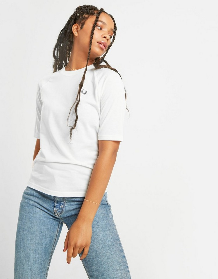 Fred Perry T-Shirt Twin Tipped Pique Femme