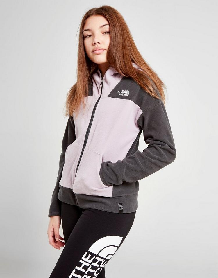 The North Face Girls' Glacier Polar Fleece Full Zip Hoodie Junior