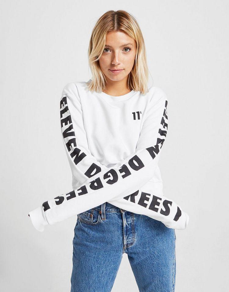 11 Degrees camiseta de manga larga Repeat