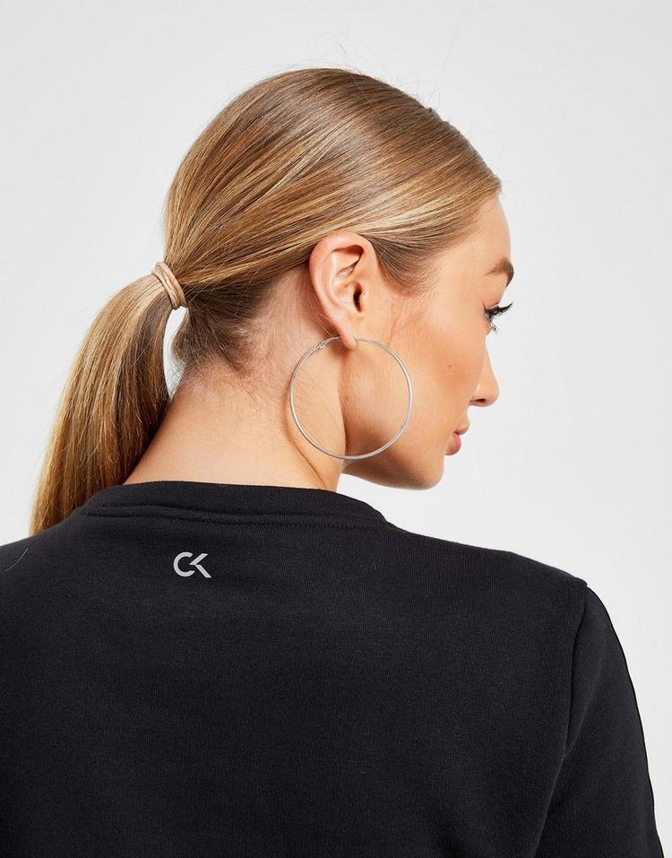 Calvin Klein Performance Tonal Tape Crew Sweatshirt