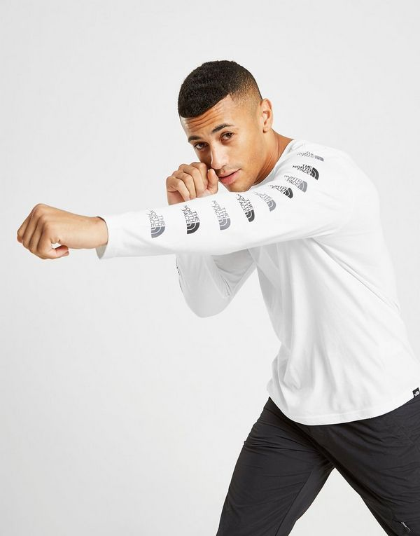 The North Face Long Sleeve Repeat T-Shirt