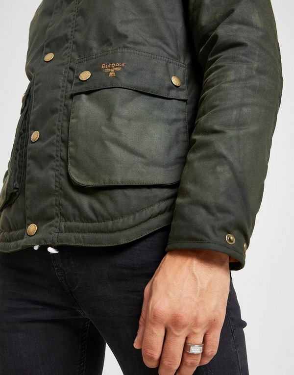 Barbour Beacon Reelin Waxed Hooded Jacket