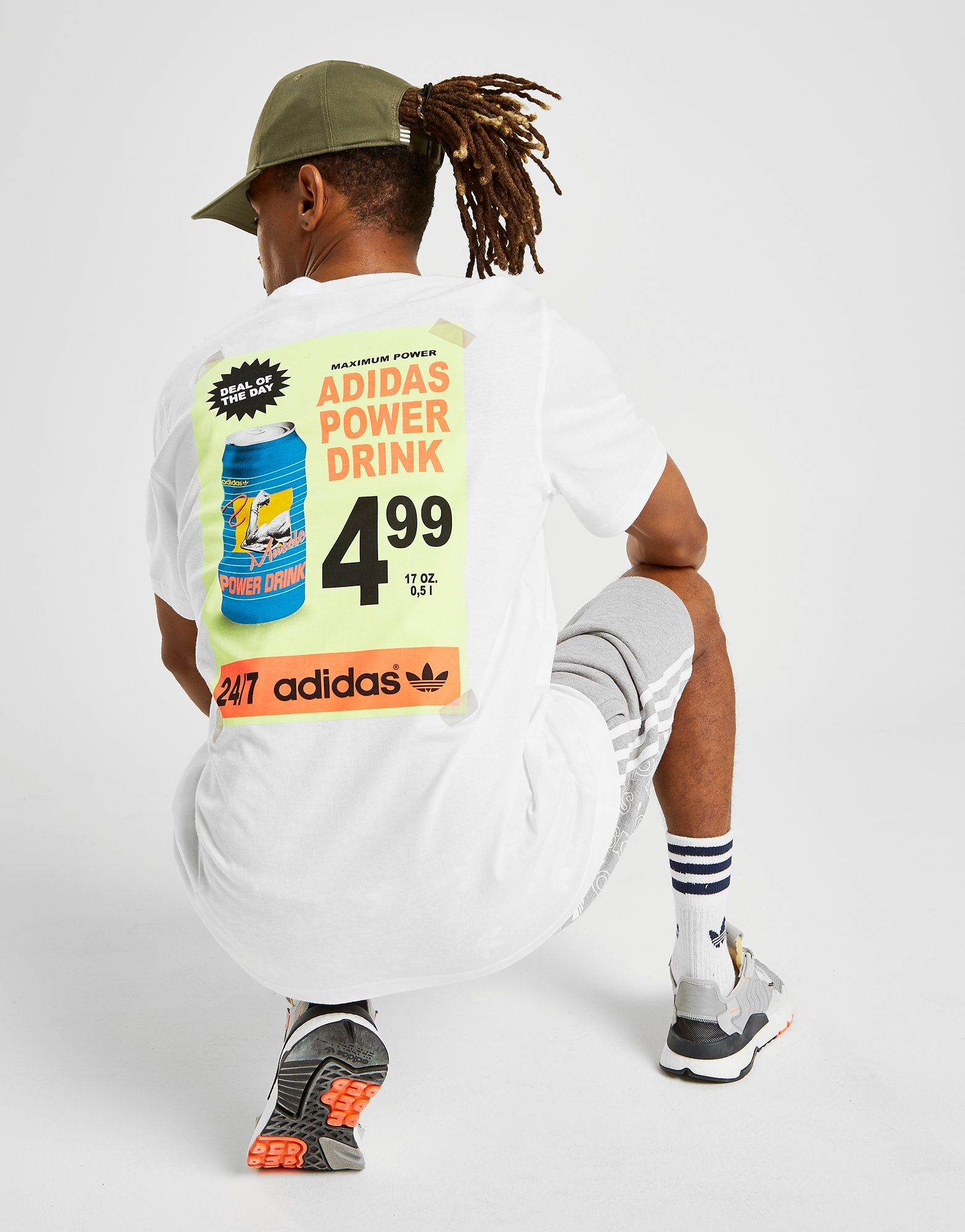 Adidas Originals Bodega Poster T Shirt by Adidas Originals