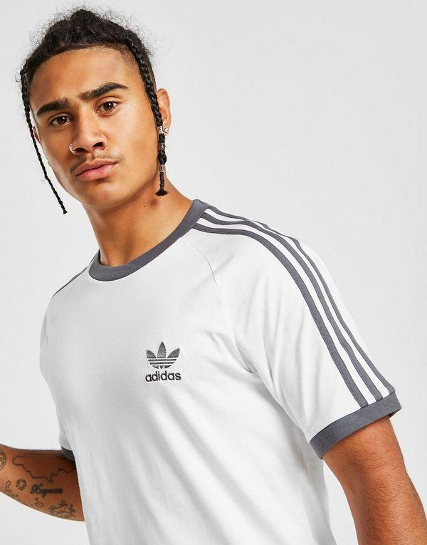 efd1b05b91 adidas Originals 3-Stripes California Short Sleeve T-Shirt   JD Sports