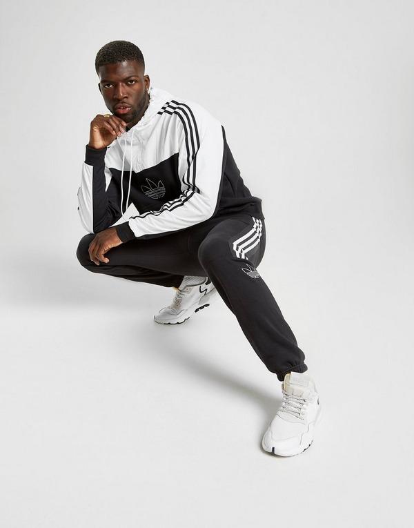 adidas Originals Sweat à capuche Outline 12 Zippé Homme