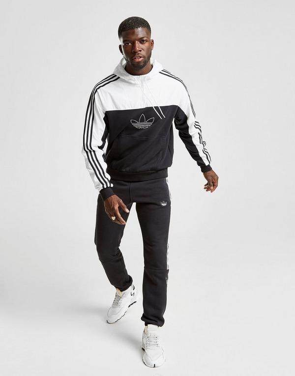 Acherter Blanc adidas Originals Sweat à capuche Outline 12