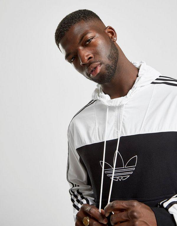 adidas Originals Outline 1/2 Zip Hoodie