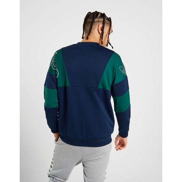 adidas Originals Spirit Poly Crew Sweatshirt