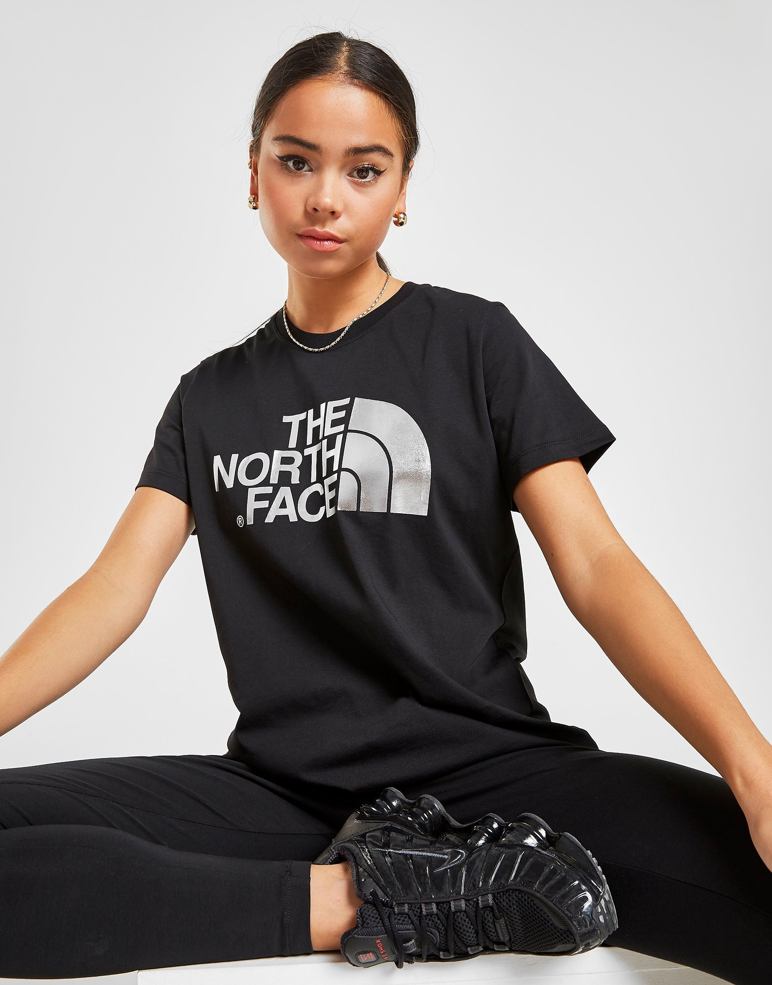 The North Face Dome Logo Boyfriend T Shirt by The North Face