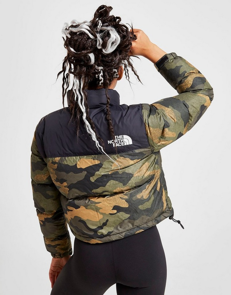 The North Face Cropped Nuptse Jacket