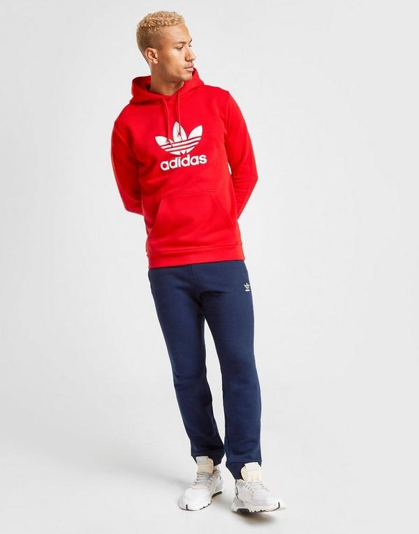 Acherter Rouge adidas Originals Sweat à capuche Statement
