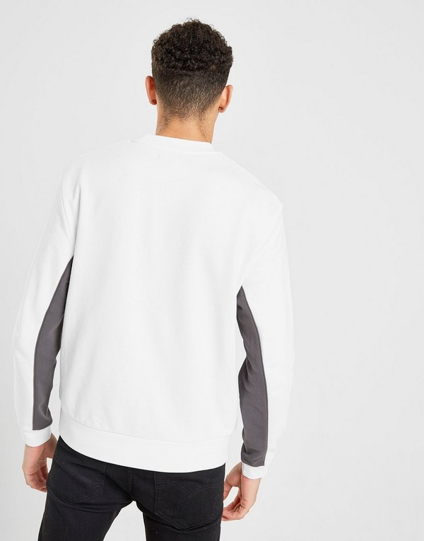 Fred Perry Cut and Sew Central Logo Crew Sweatshirt