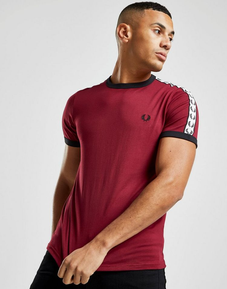 Fred Perry camiseta Taped Retro Ringer