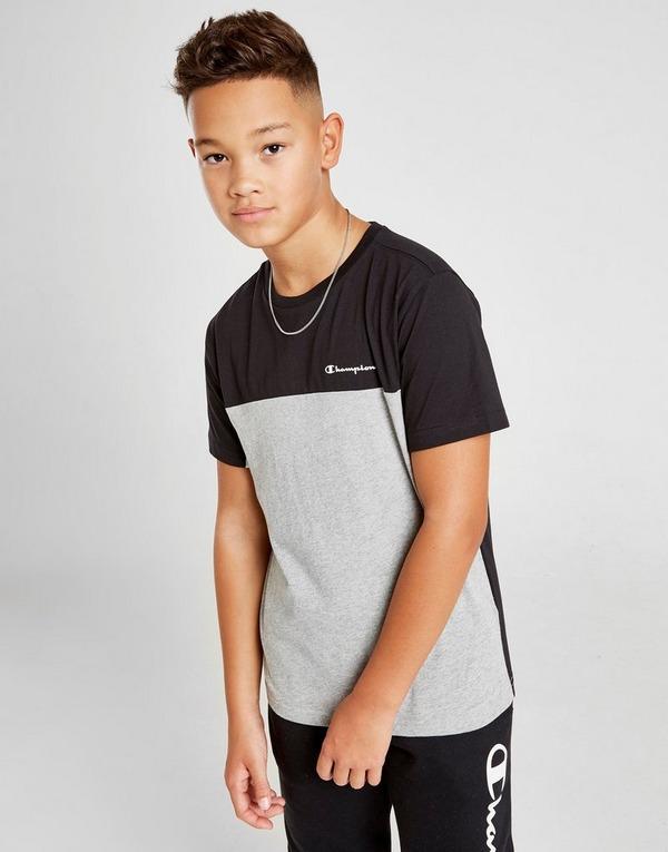 Champion Colour Block Short Sleeve T-Shirt Junior