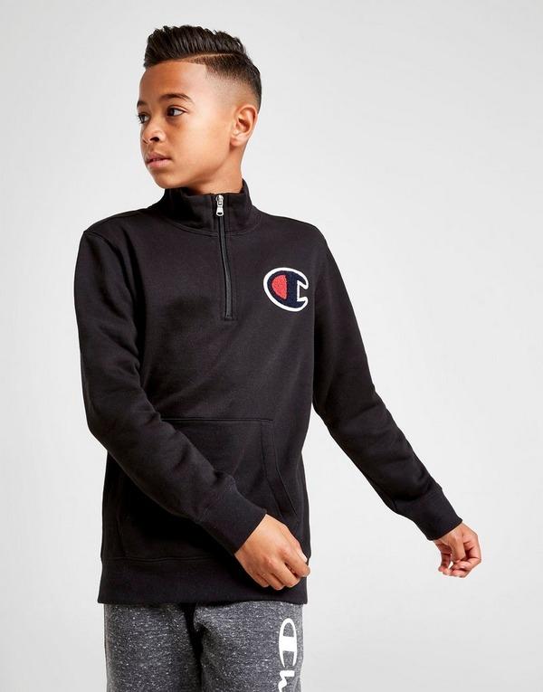 Champion Fleece 1/4 Zip Sweatshirt Junior